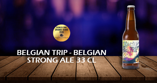 birra artigianale belgian trip premiata 33 cl