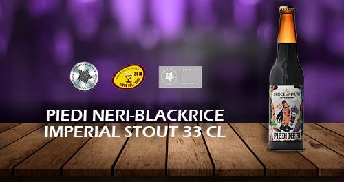 birra artigianale croce di malto piedi neri 33 cl