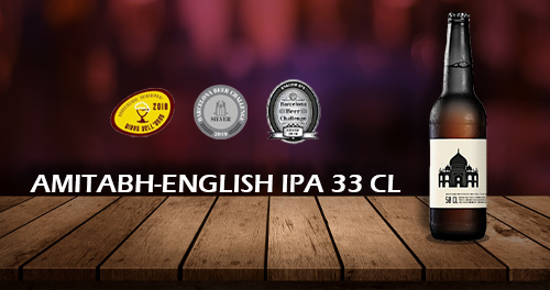 birra artigianale amitabh english ipa 33 cl