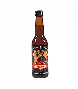 PORTA DEL MONTE-BROWN ALE 33 CL