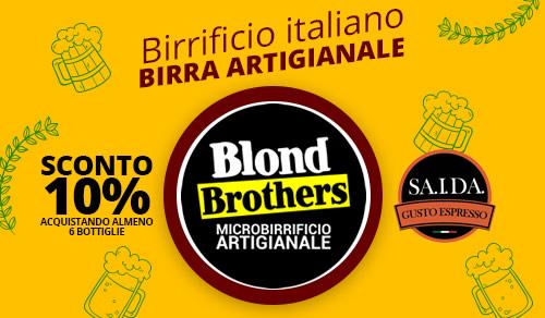 BIRRA ARTIGIANALE BLOND BROTHERS