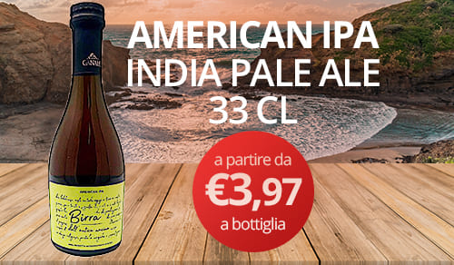 birra artigianale AMERICAN IPA INDIA PALE ALE 33 CL