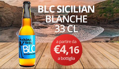 birra artigianale BLC SICILIAN-BLANCHE 33 CL