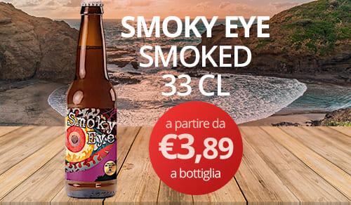 birra artigianale SMOKY EYE -SMOKED 33 CL