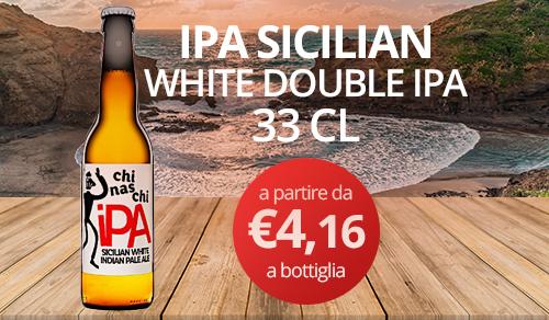 birra artigianale IPA SICILIAN-WHITE DOUBLE INDIAN PALE ALE 33 CL