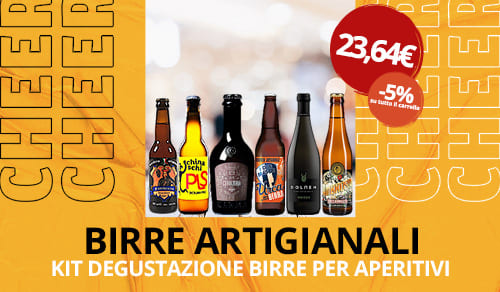 Birra Artigianale Kit degustazione per aperitivi