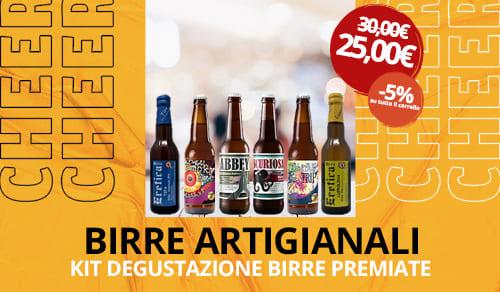 Birra Artigianale kit degustazione premiate