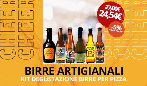 Birra Artigianale kit degustazione per pizza