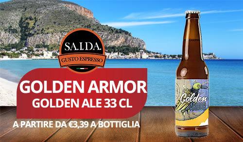 birra artigianale golden armor golden ale