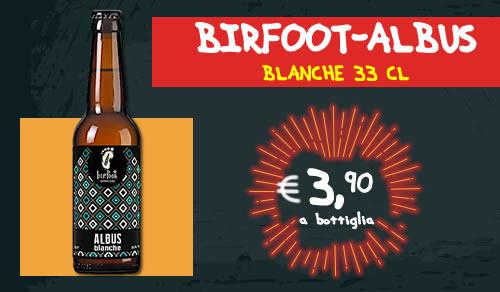 BIRRA ARTIGIANALE Albus Blanche 33 cl