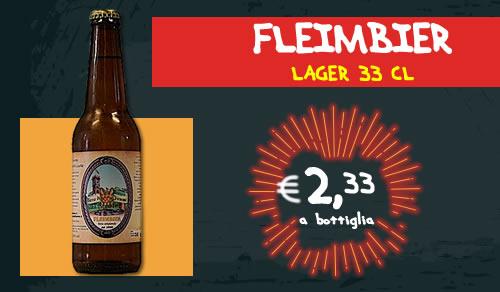 BIRRA ARTIGIANALE Flaimbier Lagers 33 cl