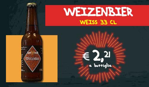 BIRRA ARTIGIANALE Weizenbier Weiss 33 cl