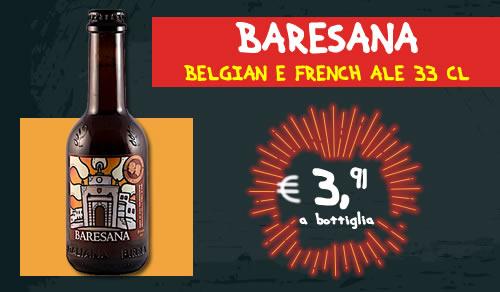 BIRRA ARTIGIANALE Baresana Belgian e French Ale 33 cl