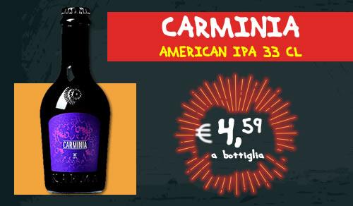 BIRRA ARTIGIANALE Carminia American IPA 33 cl