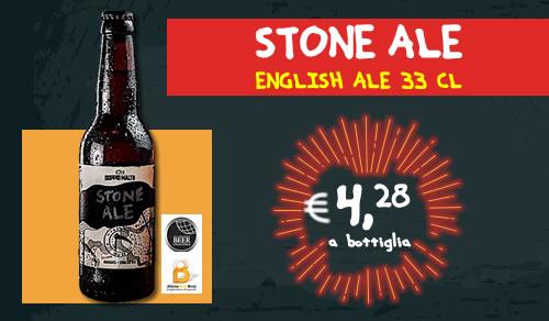 BIRRA ARTIGIANALE Stone Ale English Ale 33 cl