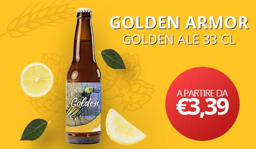 GOLDEN ARMOR- GOLDEN ALE 33 CL