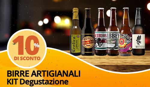 Birra Artigianale kit degustazione