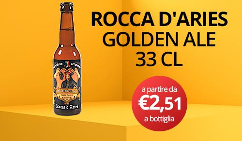 birra artigianale rocca d'aries 33 CL