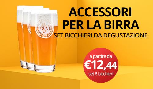 bicchieri degustazione birra