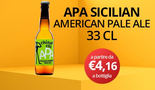 birra artigianale chinaschi apa sicilian 33 CL