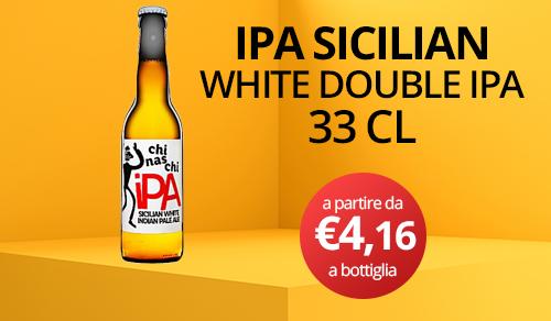 birra artigianale chinaschi ipa sicilian 33 CL