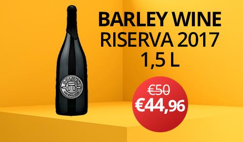birra artigianale BARLEY WINE RISERVA 2017 1.5 L