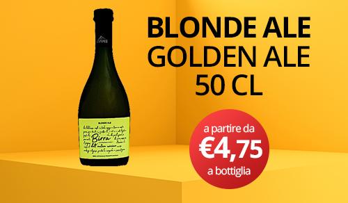 birra artigianale blonde ale 50 CL
