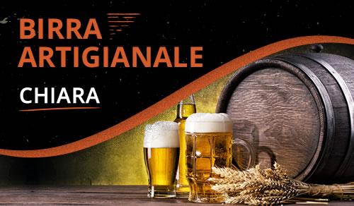 Birra Artigianale Aspetto Chiara