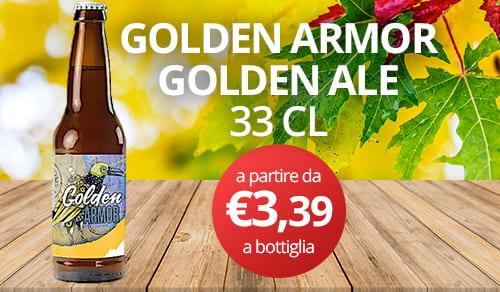 birra artigianale GOLDEN ARMOR-GOLDEN ALE 33 CL
