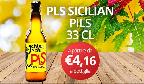 birra artigianale PLS SICILIAN-PILS 33 CL