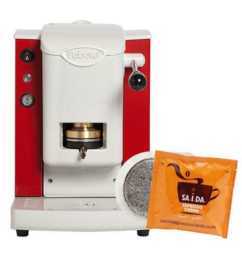 macchina-da-caffè-faber-rossa