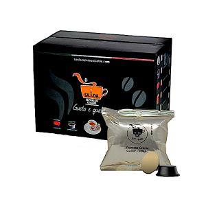 Capsule SA.I.DA. Lavazza Firma e Vitha Group Espresso Crema (Compatibile Lavazza Firma e Vitha Group)