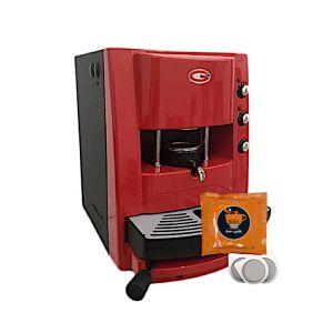 Macchina da caffè Grimac Terry vari colori + 200 cialde filtro carta ese 44 SA.I.DA. Espresso Crema