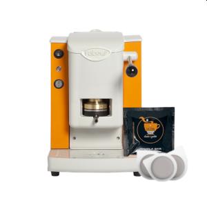 Macchina da caffè Faber Slot Plast + 50 Cialde SA.I.DA. Espresso Bar