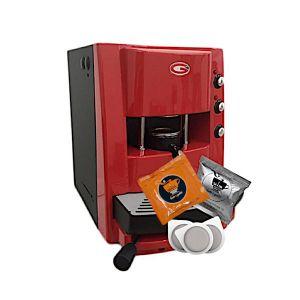 Macchina da caffè Grimac Terry vari colori + 100 Cialde SA.I.DA. Espresso Crema + 50 Cialde SA.I.DA. Espresso Dek