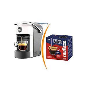 Macchina da caffè Lavazza a Modo Mio Jolie più 36 capsule caffè miscela crema e gusto