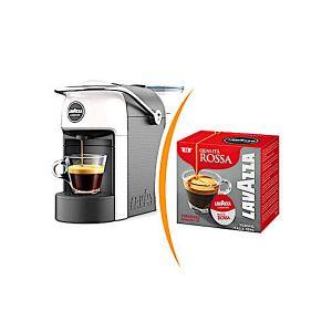 Macchina da caffè Lavazza a Modo Mio Jolie più 36 capsule caffè miscela Qualità Rossa