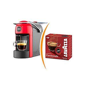 Macchina da caffè Lavazza a Modo Mio Jolie più 36 capsule caffè miscela passionale