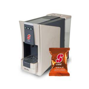 Macchina da caffe S.12 Essse Caffè più 100 capsule caffè miscela Ideale