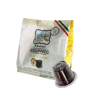 Capsule TO.DA. Gattopardo Tè Limone (Compatibili Nespresso)
