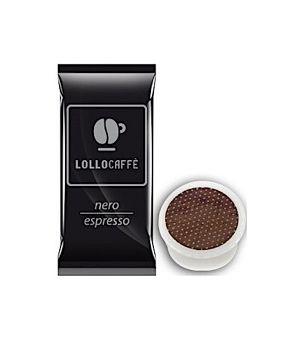 Capsule Lollo Caffè Miscela Nera (Compatibili Lavazza Espresso Point)
