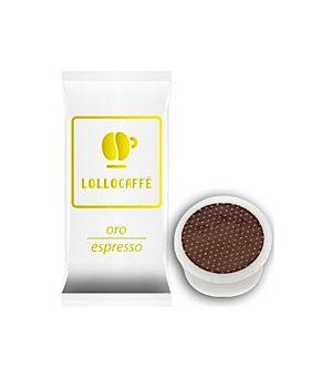 Capsule Lollo Caffè Miscela Oro (Compatibili Lavazza Espresso Point)
