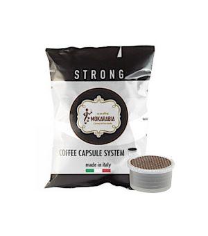 Capsule Mokarabia Miscela Strong (Compatibili Lavazza Espresso Point)