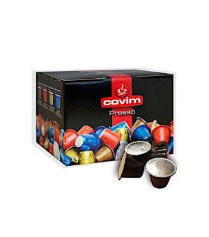 Capsule Covim Miscela Oro Crema (Compatibile Nespresso)