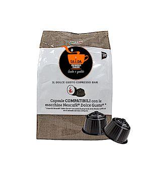 Capsule SA.I.DA. Il Dolce Gusto Espresso Bar (Compatibili Nescafè Dolce Gusto)
