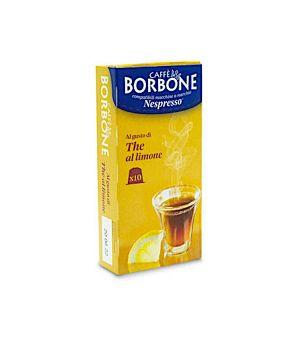 Capsule Borbone compatibile Nespresso al gusto di the al limone
