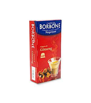 N10 Capsule Caff Borbone al gusto di Ginseng Compatibile Nespresso