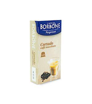 N10 Capsule Caff Borbone Cortado Caff Macchiato Compatibile Nespresso