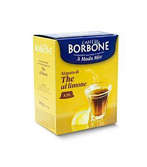 N16 Capsule Caff Borbone al gusto di The Al Limone Compatibile Lavazza A Modo Mio