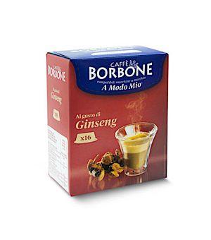 Capsule Borbone Caff al Gusto Di Ginseng Compatibile Lavazza A Modo Mio
